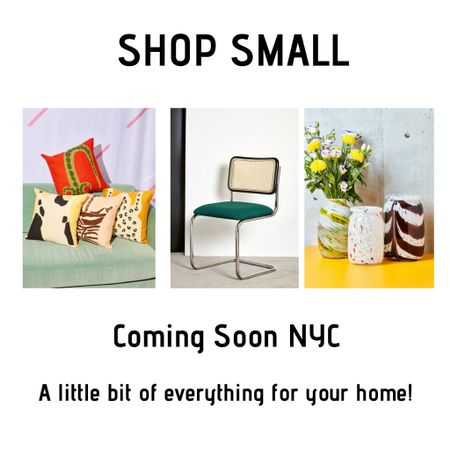 Shop small at Coming Soon NYC! Some of the most unique and modern home pieces I've seen! http://liketk.it/32GXY #liketkit @liketoknow.it #LTKhome