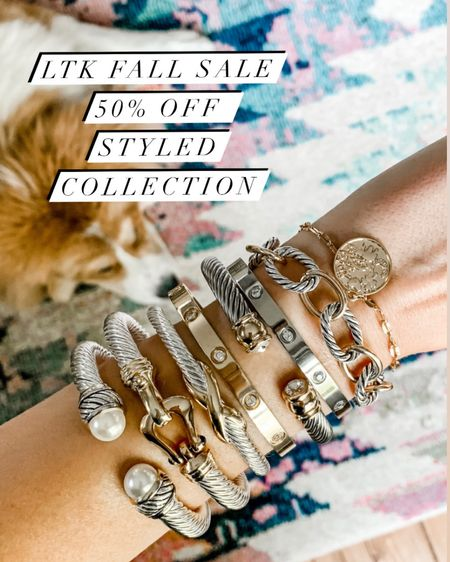 LTK FALL SALE DAY - 50% OFF STYLED COLLECTION. Code: LTK50 http://liketk.it/2WV2D #liketkit @liketoknow.it