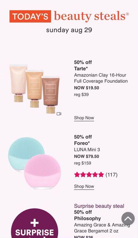 Ulta 21 Days of Beauty starts today! Shop these products for 50% today, Sunday 8/29, only!   #LTKsalealert #LTKbeauty #LTKunder50