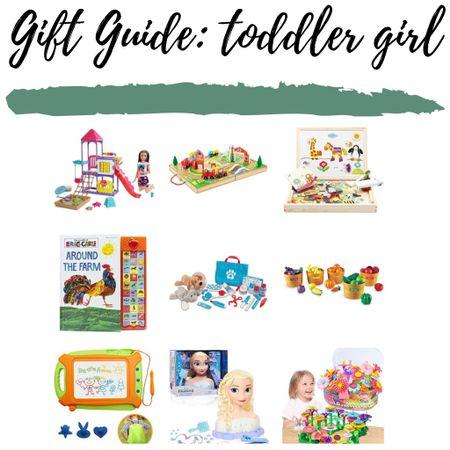 Toddler girl gift guide! http://liketk.it/32lvl #liketkit @liketoknow.it #LTKkids #LTKsalealert #LTKgiftspo