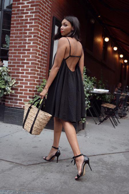 Summer outfit, lbd, date night   #LTKunder50 #LTKshoecrush #LTKstyletip