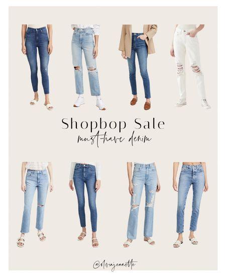 Denim ON SALE from Shopbop! 🙌🏼💙  #LTKunder100 #LTKSeasonal #LTKsalealert