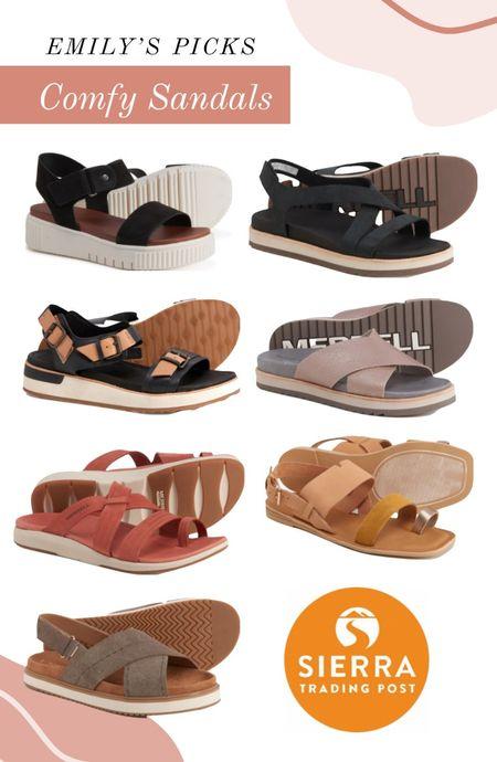 Affordable, cute & comfy sandals!