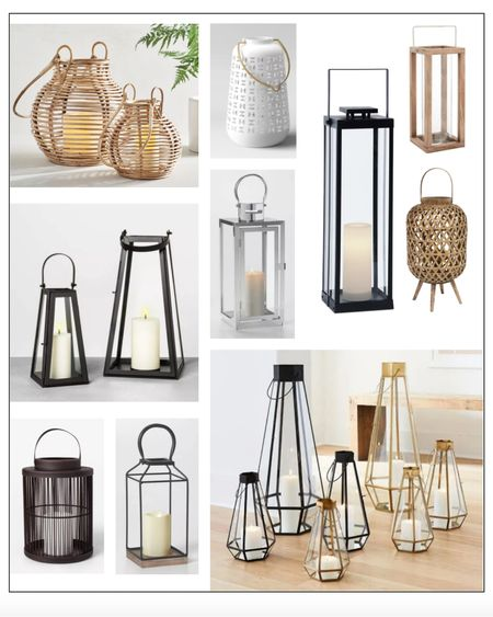 http://liketk.it/35aOj #liketkit @liketoknow.it  Lanterns, indoor outdoor lighting, porch decor, patio, deck  #patio    #LTKSeasonal  #LTKfit #LTKfamily #LTKhome