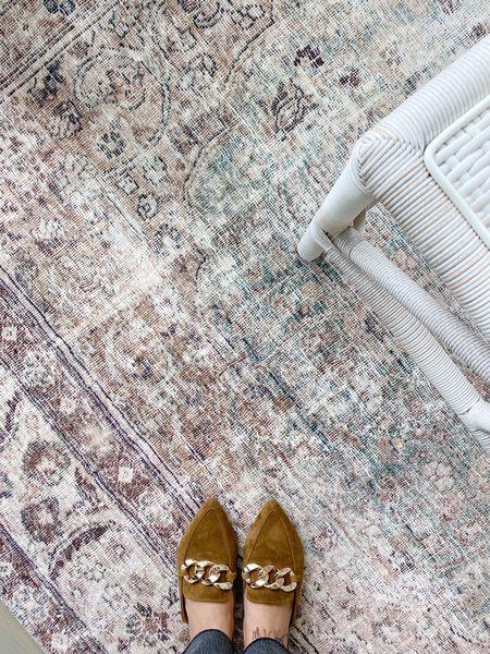 Loving my pretty new living room rug!! Feels like you're walking on a pillow, so plush and soft!!   #livingroom #loloirug   #LTKhome