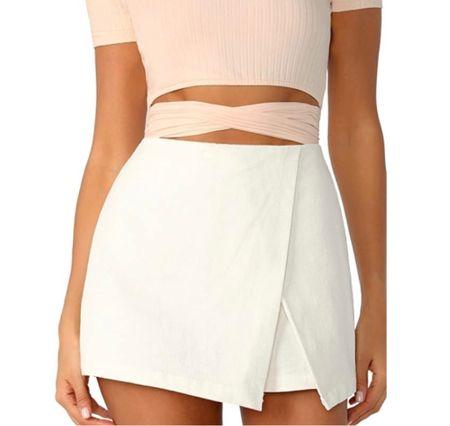 Shop this white skort here!!!  #LTKunder100 #LTKHoliday #LTKSale