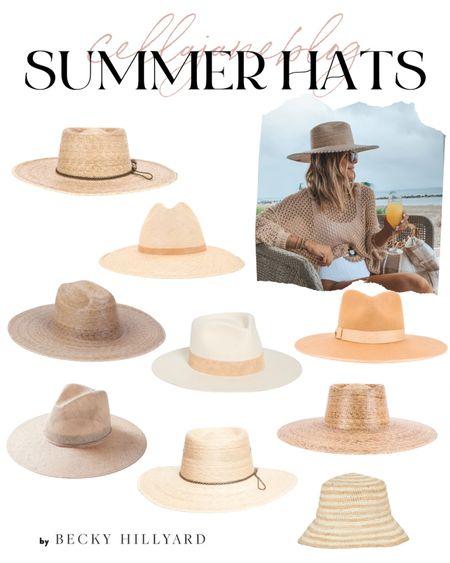 Summer hats! Cellajaneblog   #LTKswim #LTKtravel
