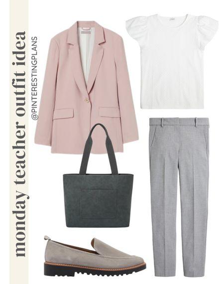 Monday teacher Outfit idea🙌🏻  #LTKstyletip #LTKunder100 #LTKitbag