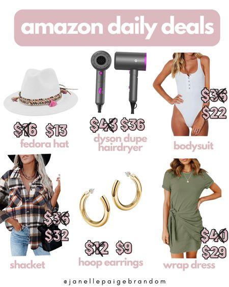 Amazon daily deals! Dyson dupe hairdryer!  #LTKSale #LTKunder50 #LTKbeauty
