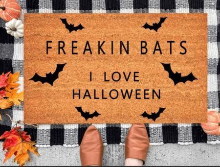 Greet your Halloween guests in style 🦇   #LTKhome #LTKunder50 #LTKSeasonal