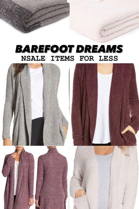 Barefoot dreams // Nordstrom racks // NSALE look for less   #LTKunder50 #LTKsalealert #LTKunder100