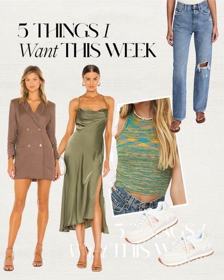 what I want this week #dress #jeans