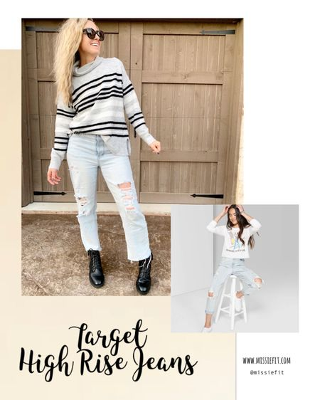 The best $22 jeans.  Size up for baggier fit. #target