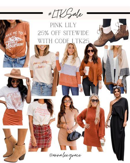 #LTKSALE - Pink Lily Sale, 25% off sitewide with code LTK25   #LTKSeasonal #LTKsalealert #LTKSale