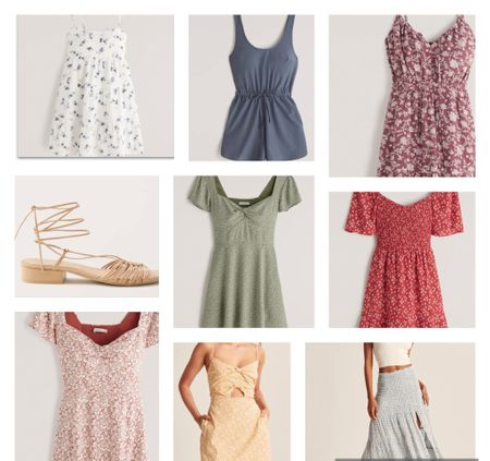 These dresses are all on sale and the prints are just to die for! I love the floral prints so much! What about you? Also these sandals aren't they just perfect for summer   #LTKsalealert #LTKSeasonal #LTKDay