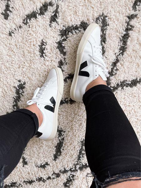 Fave kicks! Veja Esplar Sneakers | super comfy and perfect for everyday errands |runs 1/2 size small (wearing size 7)   #LTKshoecrush #LTKstyletip #LTKfit