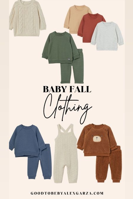 Baby fall clothing!