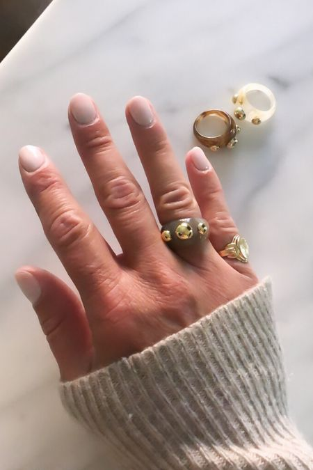 Bubble Rings Amazon Jewelry Fall Jewelry Gold Jewelry       #LTKunder50