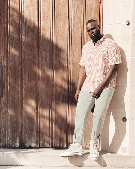 Summer vibe loading! Love these linen pants and crispy off white sneakers. Shop your screenshot of this pic with the LIKEtoKNOW.it shopping app http://liketk.it/3eIwD @liketoknow.it #liketkit #LTKmens #LTKshoecrush #LTKstyletip
