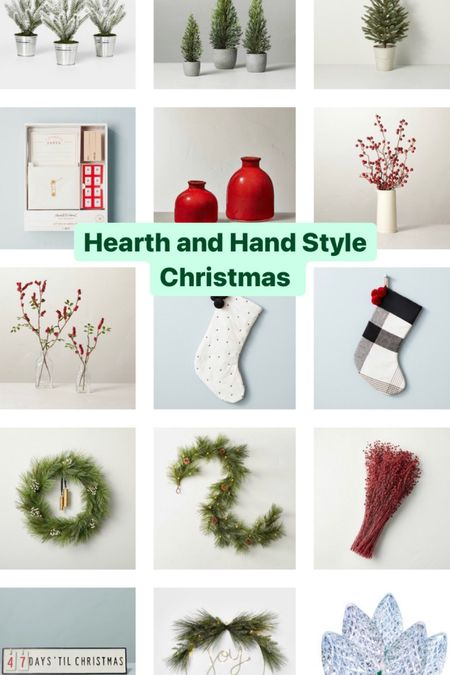 Christmas holiday decor from Target. Hearth and Hand Christmas decor style   #LTKSeasonal #LTKGiftGuide #LTKHoliday