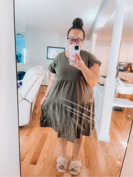Cute Fall dress from Walmart. Super affordable only $13.88  #LTKfamily #LTKstyletip #LTKunder50
