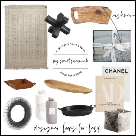 Designer looks  for less!  Shop Staub Roasting pans, linen bedding and duvet covers, cashmere blankets, home decor pieces, natural wood pieces for fall decorating and more, all at deeply discounted prices!   #LTKunder100 #LTKhome #LTKstyletip