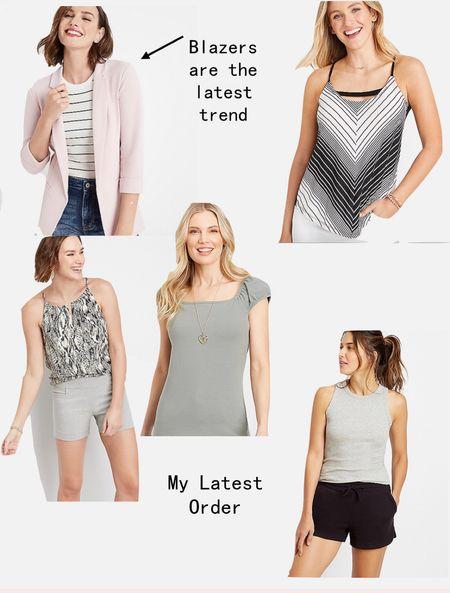 Pink blazer Pink washable blazer My latest Maurices haul Summer and fall fashion     #LTKstyletip #LTKsalealert #LTKunder50