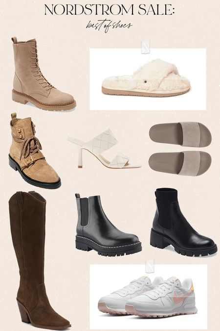Nordstrom anniversary sale: best of shoes! Obsessed with the Sam Edelman combat boots and Steve Madden Chelsea boots! @nordstrom #nordstrom   #LTKsalealert #LTKshoecrush #LTKunder100