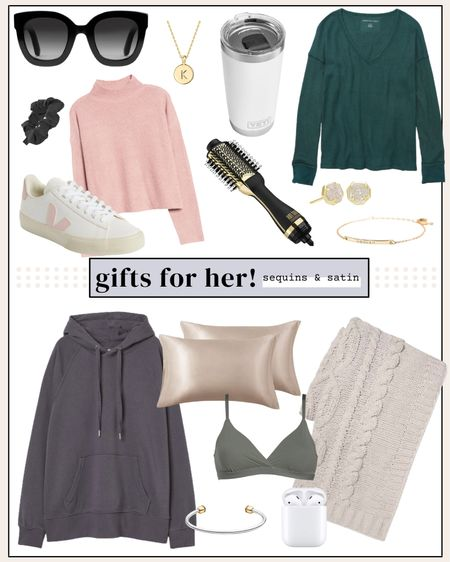 Gift guide for her! All perfect gifts for any woman in your life, most come in tons of color options too so you can find the perfect option for her!🙌 #giftguideforher #giftsforher #womensgiftguide #christmasgifts #holidaygifts   #LTKHoliday #LTKGiftGuide #LTKunder100