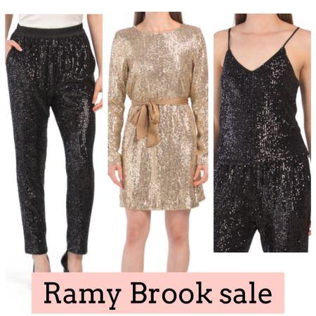 Holiday outfits on sale. Sequins. Ramy Brook   #LTKHoliday #LTKsalealert #LTKSeasonal