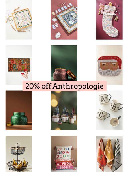Anthropologie sale. Christmas decor.   Follow my shop @ashleyjennany on the @shop.LTK app to shop this post and get my exclusive app-only content!  #liketkit #LTKsalealert #LTKSeasonal #LTKHoliday @shop.ltk http://liketk.it/3qed1