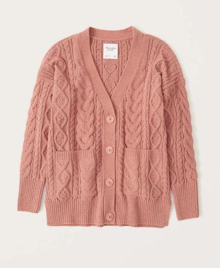 Chunky sweater cardigan   #LTKworkwear #LTKunder100 #LTKSeasonal