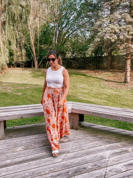 It's a maxi skirt summer. 🧡 is your ideal length mini, midi, or maxi?  My parents are coming to visit this weekend and I'm so excited to have extra eyes on Sidney! Mama needs a break 😅. #maxiskirt #founditonamazon #amazonfashion #ltkunder50