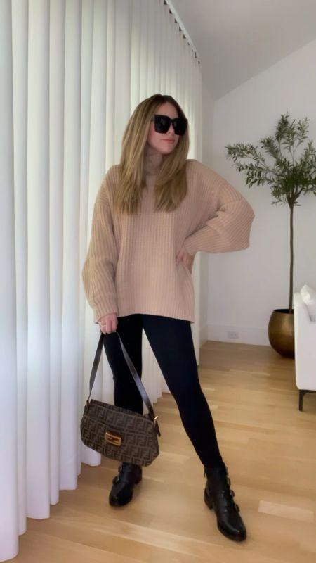 #NSALE Fall outfits with leggings 🖤  #LTKsalealert
