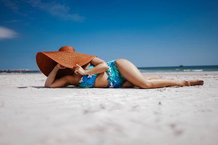 Floral Bikini High waisted from Target, oversized hat, woven hat, Tropical vibes, two piece swimsuit, Target find, Target style, summer outfit, floral swimsuit http://liketk.it/3fTVu @liketoknow.it #liketkit #LTKSpringSale #LTKsalealert #LTKstyletip #LTKunder50 #LTKunder100 #LTKswim #LTKtravel Download the LIKEtoKNOW.it app to shop this pic via screenshot