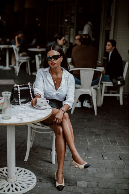 Parisian vibe ☕️     #LTKstyletip