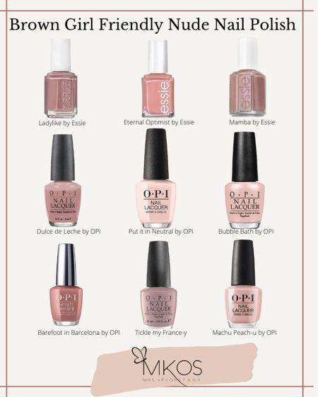 http://liketk.it/39qdj #liketkit @liketoknow.it brown girl friendly pinky-nude nail polish colors