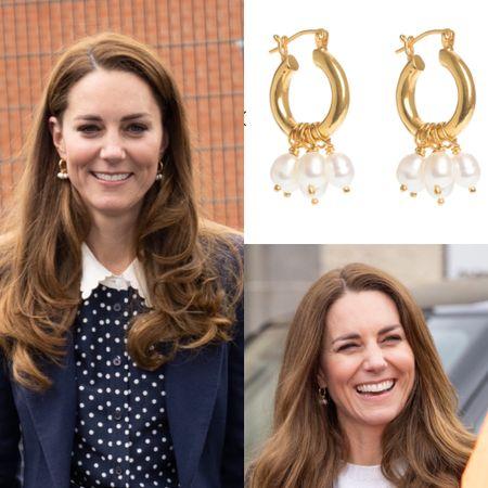 Kate wearing Freya earrings #jewelry   #LTKeurope