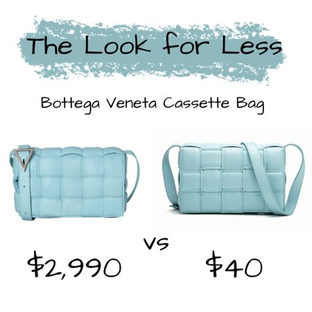 The Look for Less: Bottega Veneta Padded Cassette Bag. Link in the bio!  {CH 👸🏾}  Follow me on the @liketoknow.it  shopping app to get the product details or on our 'Shop Instagram' page in the bio.   Direct Link: http://liketk.it/3a9tk   • • • • • • #frugalshopaholic #budgetbeauty #affordablebeauty #beautyonabudget #drugstorebeauty #skincare #affordableskincare #makeup #makeupforwoc #darkskinnedmakeupdaily #blackgirlswhoblog #browngirlbloggers #dmvblogger #lablogger #liketkit #lookforless #designerdupes