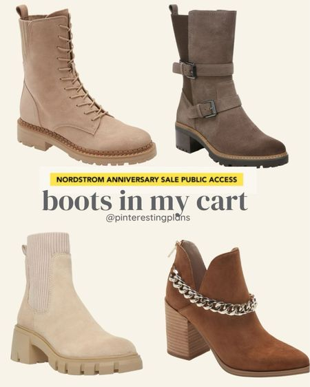 Waiting on these nsale boots to come!!   I order a half size up in boots and booties to have room for warm socks.   #LTKshoecrush #LTKstyletip #LTKsalealert