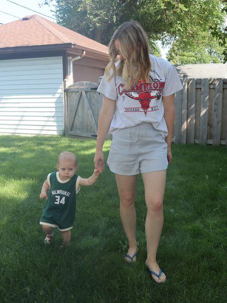 Casual summer fits. Baby sports gear <3   #LTKstyletip #LTKSeasonal #LTKbaby