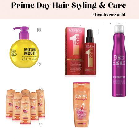 Prime day hair styling & care   #lktit #primeday #tigi #loreal #revlon #hairstyling   #LTKunder50 #LTKbeauty #LTKsalealert