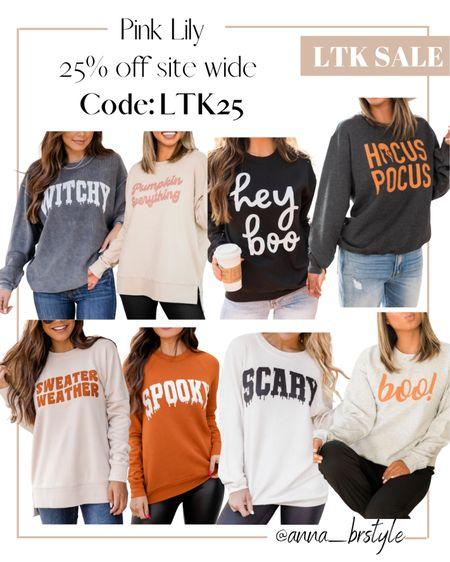 Graphic sweatshirts on sale #anna_brstyle  #LTKSale