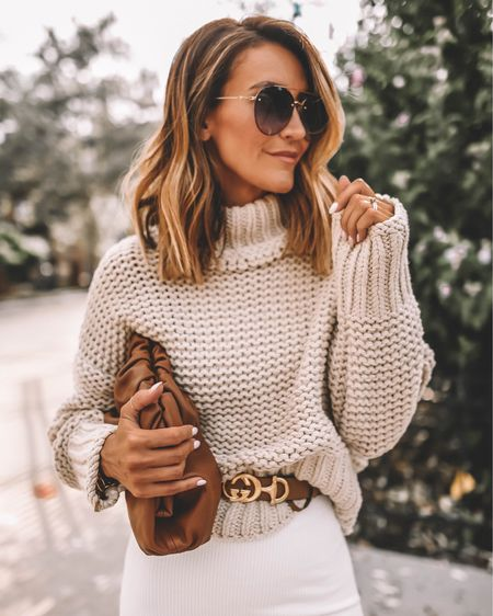 Linking a similar sweater to this best seller! I love the fishermen knit style, size up for a slouchier fit! Wearing size small! Styling with a dress and statement belt. All accessories stocked! http://liketk.it/2Wcym #liketkit @liketoknow.it #LTKitbag #LTKunder100 #LTKstyletip