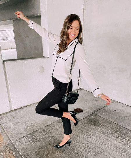 Celebrating sharing workwear inspo forever !!! Love these Calvin Klein work pants!  #LTKworkwear #LTKunder100 #LTKhome
