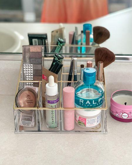 Makeup counter organization. #liketkit @liketoknow.it http://liketk.it/3h2xv #LTKunder50 #LTKunder100 #LTKbeauty