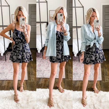 Mel overly grey styling one dress three ways for summer!   #LTKDay #LTKstyletip #LTKsalealert