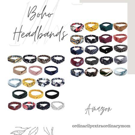 Boho headbands for back to school  #LTKkids #LTKunder100