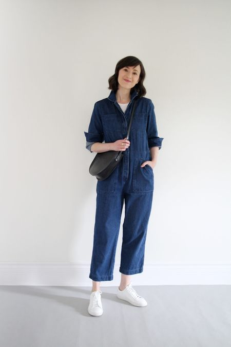 Nothing like a one-and-done jumpsuit to streamline getting ready in the morning!