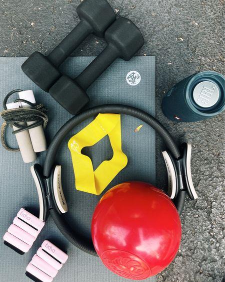 workout equipment ESSENTIALS ❣️❣️ http://liketk.it/3dZfy #liketkit @liketoknow.it #LTKunder100 #LTKstyletip #LTKfit